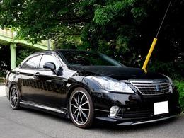 トヨタ クラウンハイブリッド 3.5 Gパッケージ 車検5年6月後期 プリクラ レーダークルーズ