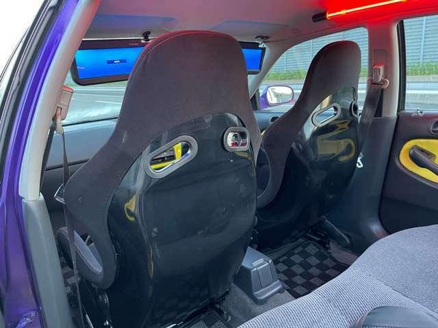新品2脚フルバッケトシート&シートレール装着!
