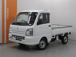 スズキ キャリイ 660 KCエアコン・パワステ 3方開 ワンオーナー・AM/FMチューナー装着車