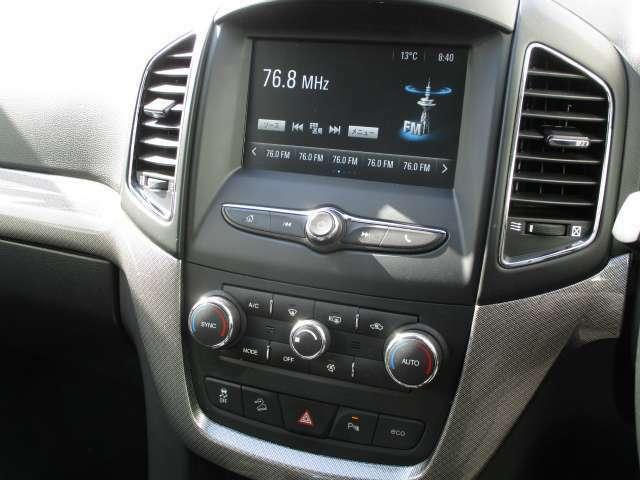 Bluetooth対応の純正オーディオ