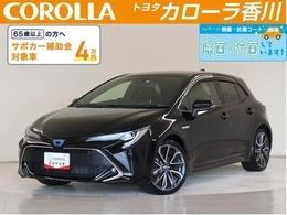 トヨタ カローラスポーツ 1.8 ハイブリッド G Z HV保証・純正9インチメモリーナビ