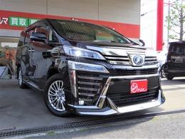 トヨタ ヴェルファイア ハイブリッド 2.5 ZR 4WD 3眼LEDライト モデリスタエアロ&マフラー