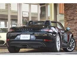 スポーツクロノパッケージ ブラックハーフレザー シートヒーター ナビ バックカメラ 地デジ ロータリースイッチ ボクスターS用19AW 電格ミラー ドライブレコーダー