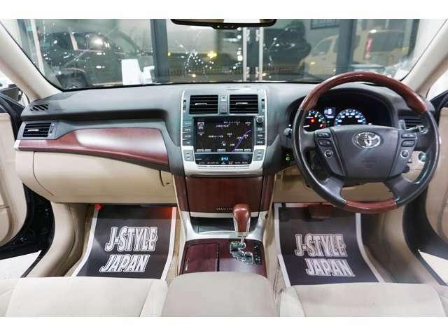 高級感溢れる車内で楽しい車ライフをお楽しみ頂けます!!