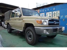 トヨタ ランドクルーザー70ピックアップ 4.0 4WD 幌付き