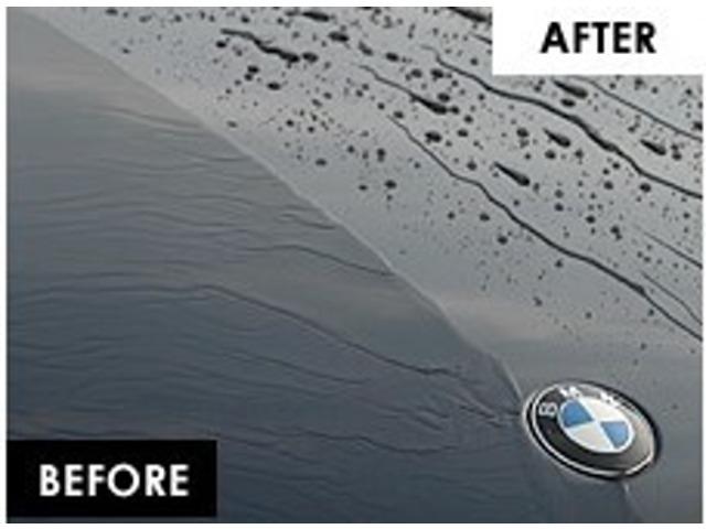 Aプラン画像:耐久性の向上と塗装本来の色艶を際立たせ劣化やシミが減少します。普段の洗車もラクラク!