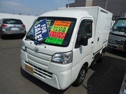 ダイハツ ハイゼットトラック 冷蔵冷凍車4WD -7℃設定左サイドドア
