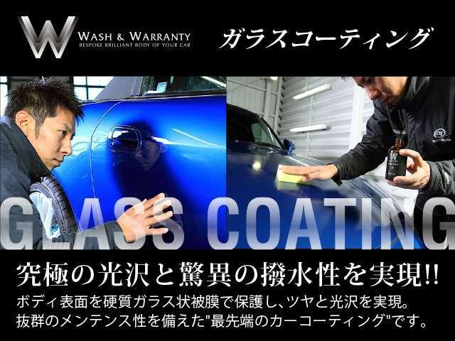 Aプラン画像:ボディ塗装層のクリアー層は、洗車をせずとも傷は入っていきます。その痛んだクリア層を数種類のコンパウンドで磨ぎ、いかに平坦へ近付けます。それからコーティングが施されますので、より厚い保護層を得られます。