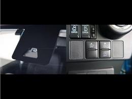衝突被害低減装着が装備されますので安全運転をサポートします。