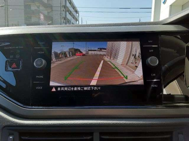 駐車時にも安心のバックカメラ付き!