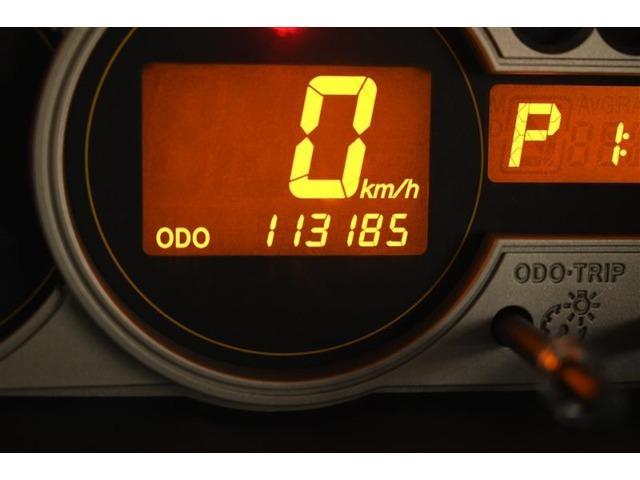 走行距離:113,185km(撮影時)  ご来店時や納車時には展示の移動や整備などで、若干 距離が進んでいる場合がございます。