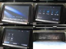 お出掛け嬉しい、純正SDナビ(フルセグ地デジTV)付です♪DVDビデオ再生機能・音楽録音機能・Bluetooth接続も可能です♪