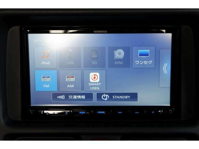 新品KENWOOD(MDV-L407)ナビ/DVDビデオ/ワンセグTV装備♪