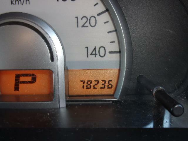 走行 78,236 kmです。
