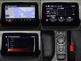 オーナーの運転を点数で表示するi-DMやコマンダーホルダー装備です。