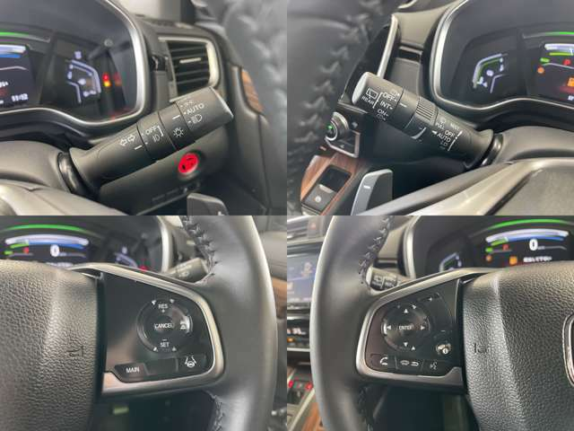 ■ホンダセンシング■運転支援システムが装備されています。衝突被害を軽減するブレーキサポート、踏み間違え防止、白線を認識ステアリングをアシスト 全車追従 信号識別機能など安全安心をサポート!!