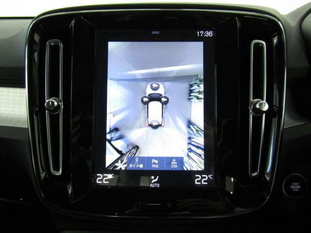 360°カメラ付きで車庫入れや縦列駐車が楽しくなります。