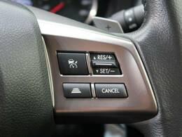 クルーズコントロールを装備!【アクセルペダルを踏み続けることなくセットした速度を維持して走行し、ドライバーの疲労低減や同乗者の快適性向上に寄与してくれます♪長距離の高速走行に嬉しい装備ですね☆】