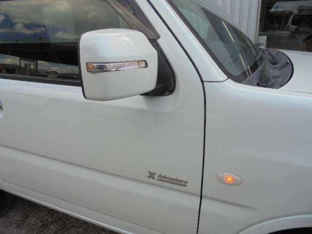ウインカードアミラー車。