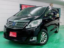 トヨタ アルファードハイブリッド 2.4 G プレミアムシートパッケージ 4WD HIDフォグランプ プッシュスタート