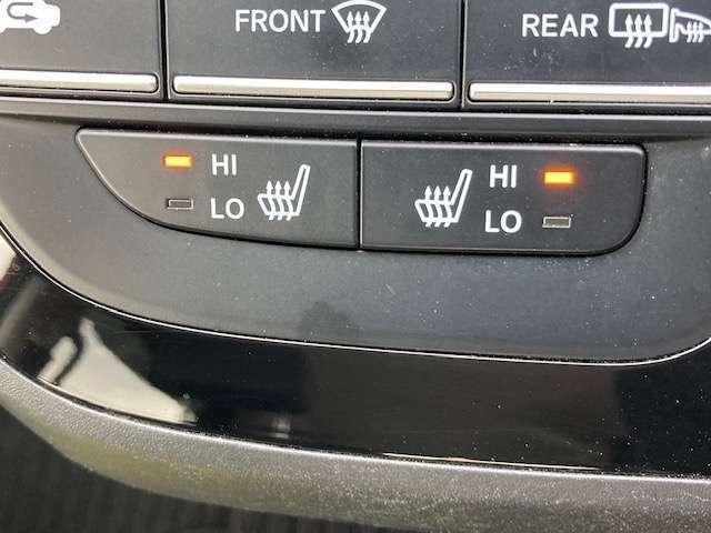 寒い日の冷えた体を温めてくれます。シートヒーター装備しております。