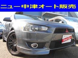 三菱 ギャランフォルティス 2.0 スーパーエクシード ナビパッケージ エアロ 社外アルミ ローダウン