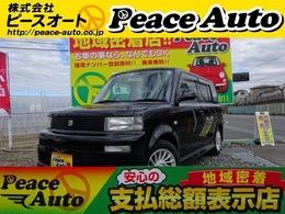 トヨタ bB 1.5 Z Xバージョン タイチェーンATキーレスETCワンオーナー