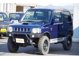 スズキ ジムニー 660 ワイルドウインド 4WD 社外バンパー 社外マフラー リフトアップ