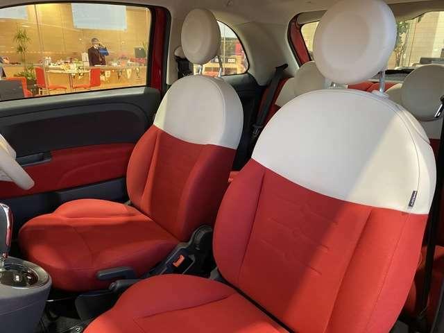 白と赤でデザインされたシートは可愛らしさをさらにUPさせます!