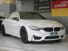 BMW M4クーペ コンペティション 6MT 右H カーボンミラーカバー 正規D車