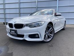 BMW 4シリーズカブリオレ 435i Mスポーツ 認定中古車 車検整備付 赤革