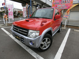 三菱 パジェロミニ 660 VR 4WD 赤ツートンカラー ターボ オートマ