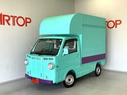 スズキ キャリイ キッチンカー 移動販売車 ケータリング 冷凍冷蔵庫シンク換気扇