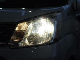 [ヘッドライト]大型のヘッドライトで夜間も明るく照らします★