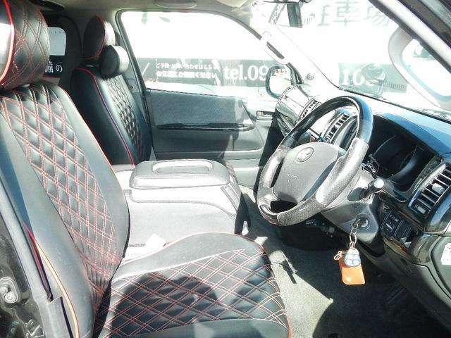 キルティングタイプのシートカバーが付いております。