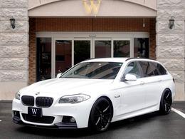 BMW 5シリーズツーリング 523i ハイラインパッケージ Mスポーツ仕様/黒革/20インチAW/ダウンサス