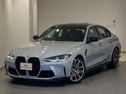 BMW M3セダン コンペティション 現行モデル黒レザ-全方位カメラ/センサ-
