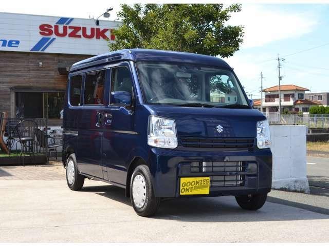 エブリィが熱い!福岡県宗像市の株式会社グーニーズワンではスズキエブリィのカスタムカーをお勧めしております