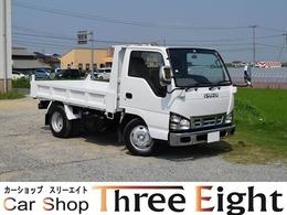 いすゞ エルフ 4.8 ダンプ フラットロー ディーゼル 5速MT車/3ペダル/新品メッキバンパー