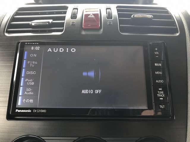 純正SDナビ付き!DVD再生、ミュージックサーバ・CD録音機能、フルセグTV、Bluetoothオーディオ、バックモニターと装備が充実しております!