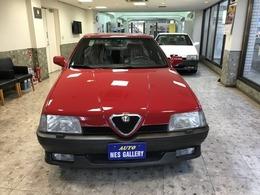 アルファ ロメオ アルファ164 クアドリフォリオ 1オーナー新車保証書整備記録簿