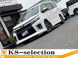 トヨタ ヴォクシー 2.0 ZS 両側電動 9型ナビ 後席TV ドラレコ エアロ