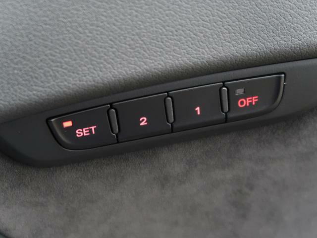 【シートメモリ機能】ドライバーサイドにメモリー機能があり、個々のユーザーにつき2Wayのプリセットが可能です。