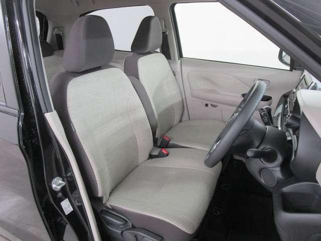 座り心地のいい、フロントシートです!