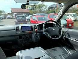 ワンボックス車は見晴らしが良いので運転しやすいです。
