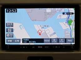 メモリーナビ フルセグTV Bluetooth機能付き