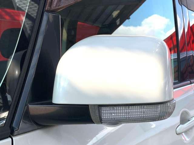 ウインカーミラーなので対向車からの視認性も良いです。事故抑制に繋がります!