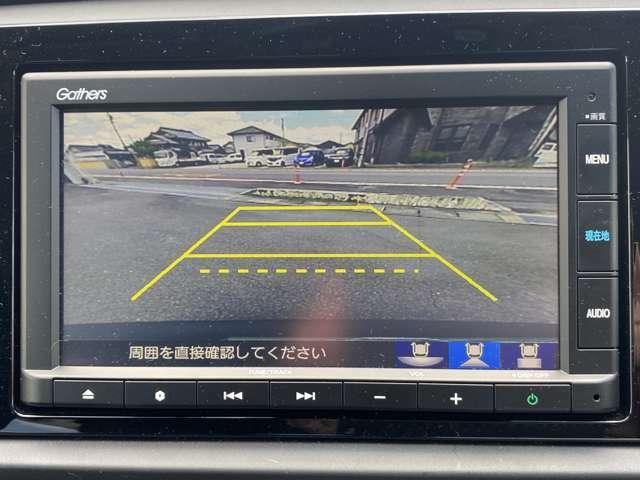 【リアカメラ装備】リアカメラが有れば、バックも楽々安全に運転出来ます!