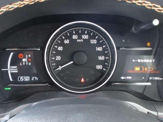 メーターも見易いレイアウトなので安心ドライブをサポートします☆