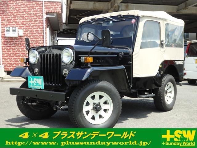 人気のジープJ53!ブラック!
